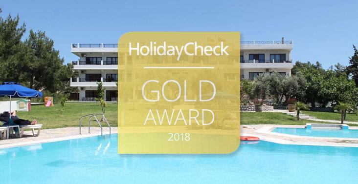 Helena Christina HolidayCheck Award 2018
