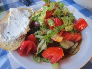 Helena Christina Restaurant Salat
