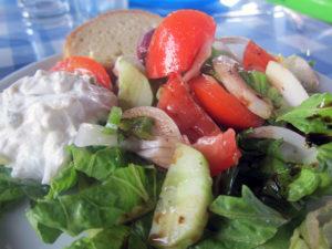 Restauarnt Rhodos griechischer Salat